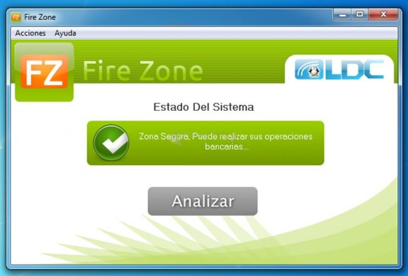 Pantallazo Fire Zone