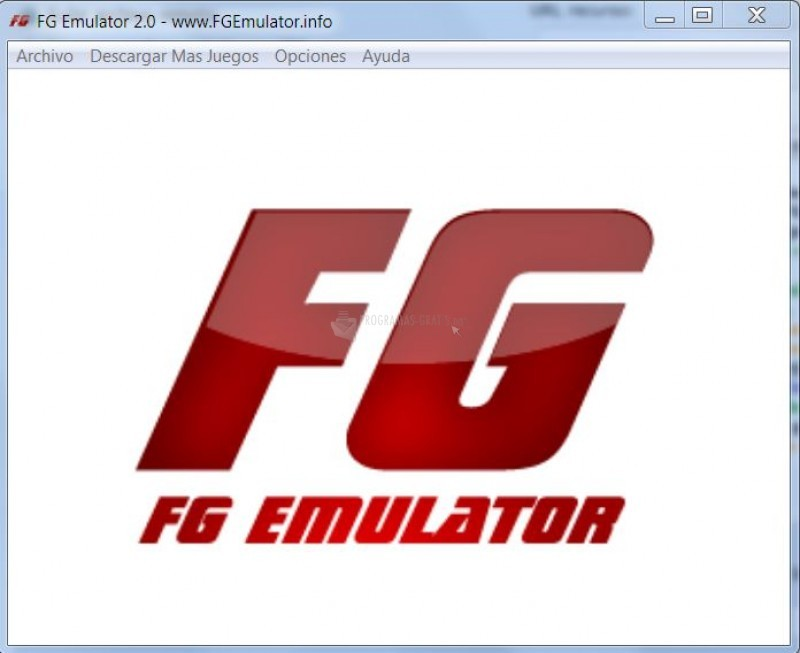 Pantallazo LCD FG Emulator