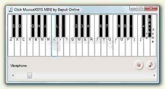 Pantallazo Click MusicalKeys