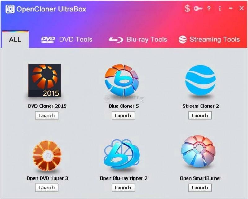 Pantallazo OpenCloner Ultrabox