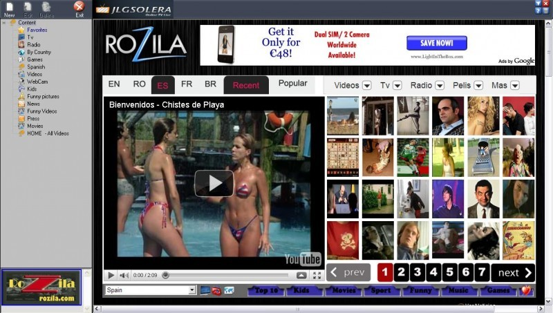 Pantallazo OnlineLiveWorld