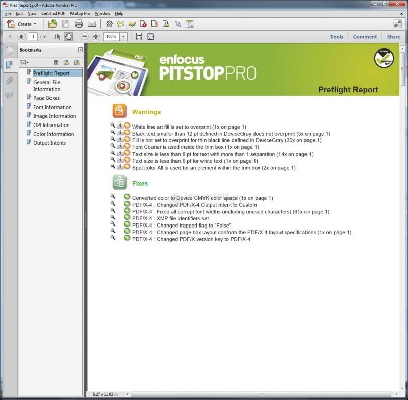Pantallazo PitStop Pro