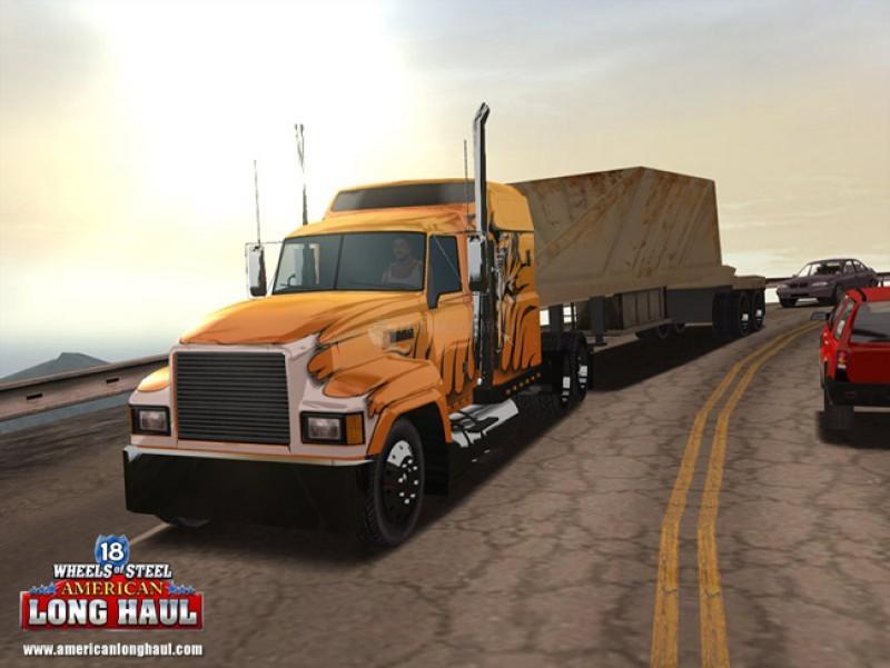 Pantallazo 18 Wheels of Steel American Long Haul