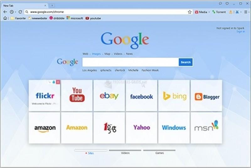 Pantallazo Baidu Browser