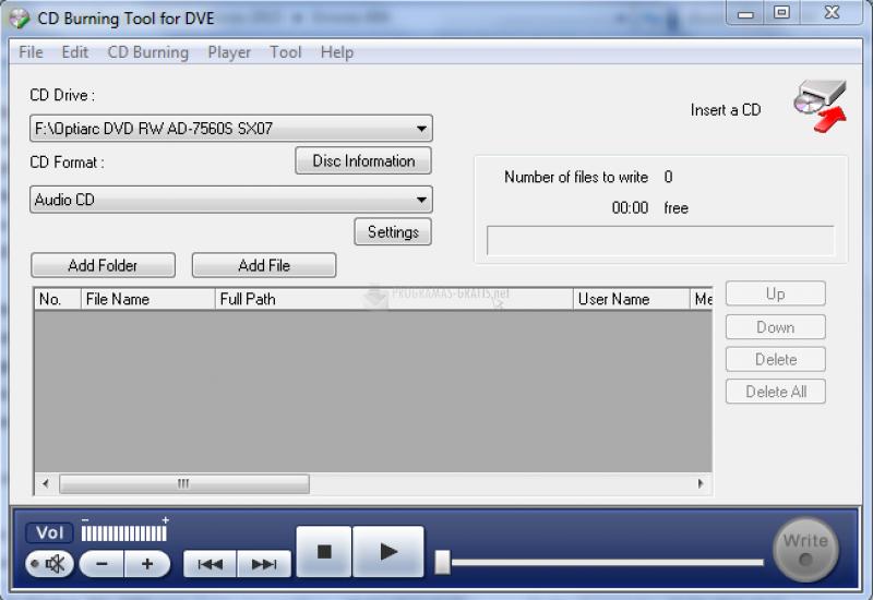 Pantallazo Digital Voice Editor