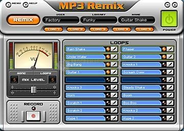 Pantallazo MP3 Remix
