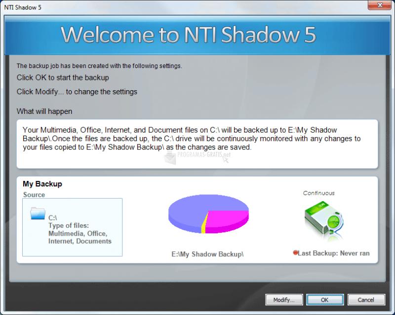Pantallazo NTI Shadow