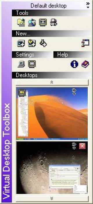 Pantallazo Virtual Desktop Toolbox