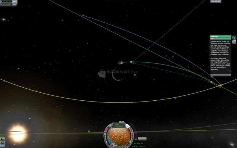 Pantallazo Kerbal - Space Program