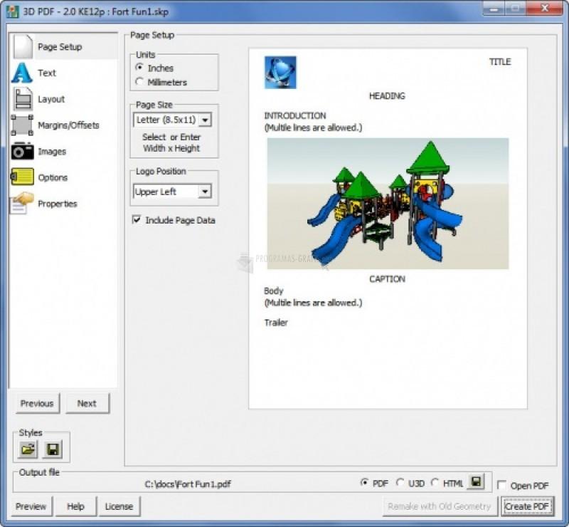 Pantallazo RPS 3D PDF