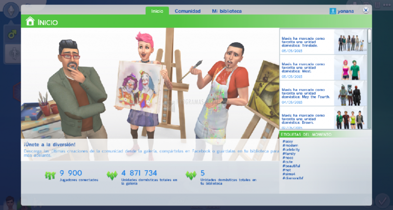Fotografía Los Sims 4 Crea un Sim