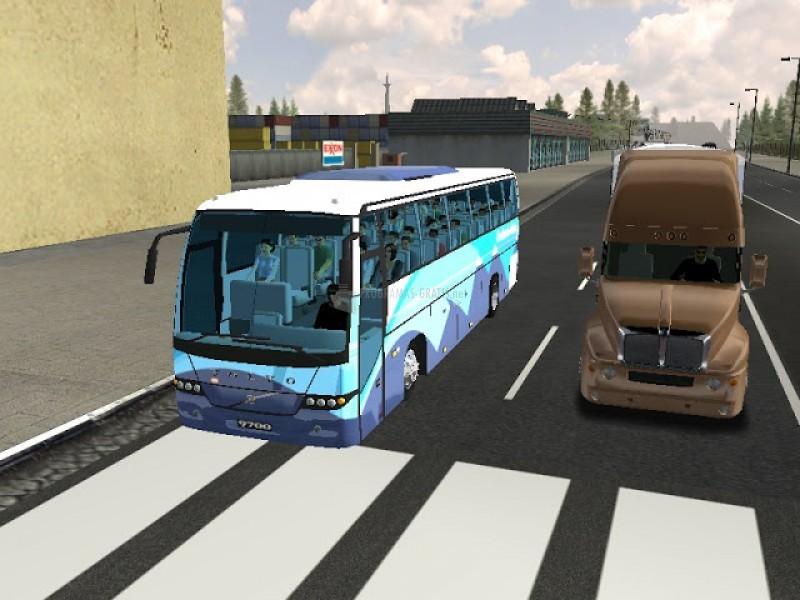 Pantallazo 18 Wheels of Steel Haulin Mod Bus Mexico