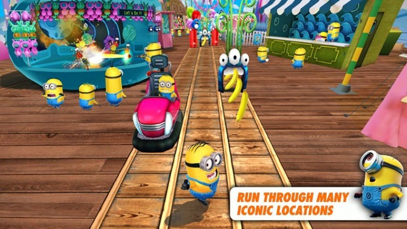 Pantallazo Despicable Me: Minion Rush