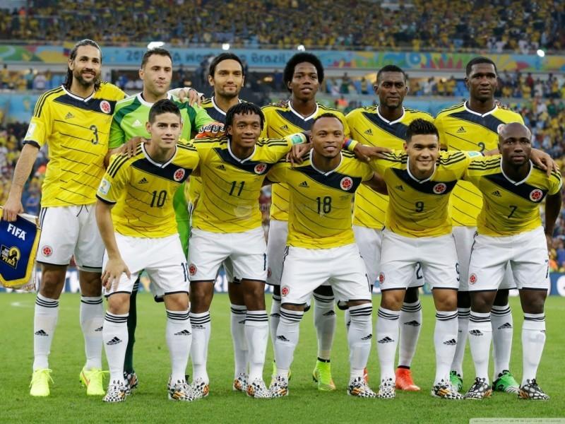 Pantallazo Selección de Colombia