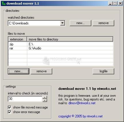 Pantallazo Download Mover