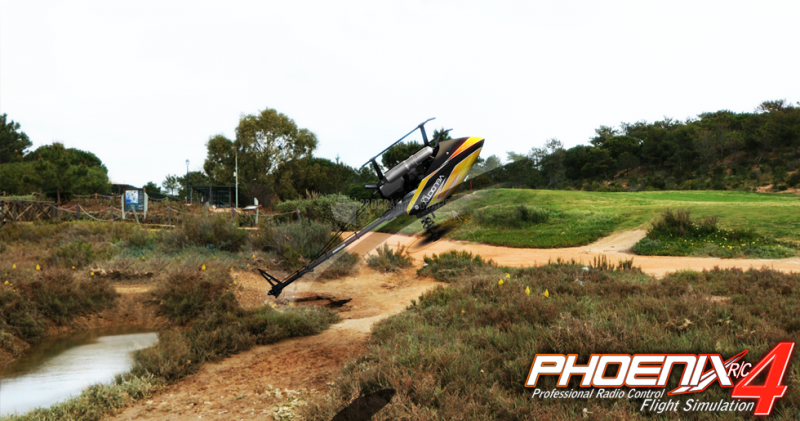 Pantallazo Phoenix Model Flight Simulation