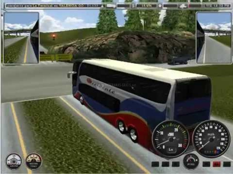 Pantallazo 18 Wheels of Steel Haulin Mod Bus Venezuela