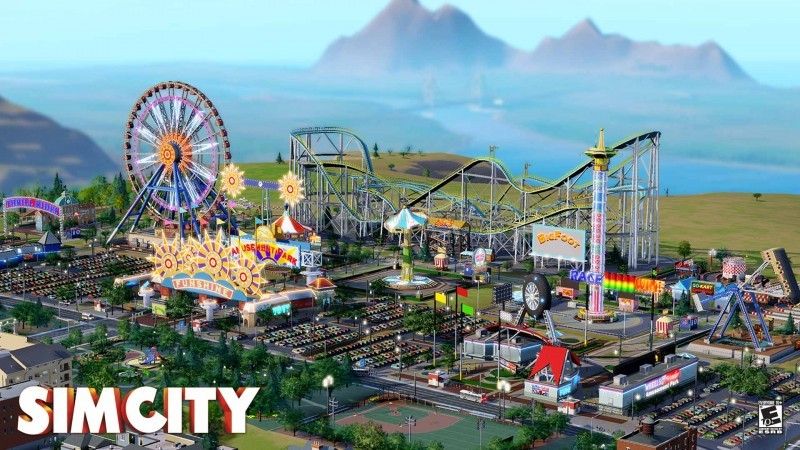 Pantallazo Sim City 3000 Wallpaper