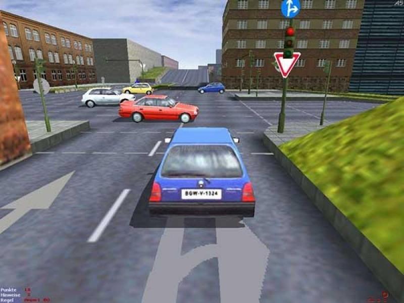 Pantallazo 3D Driving Simulator