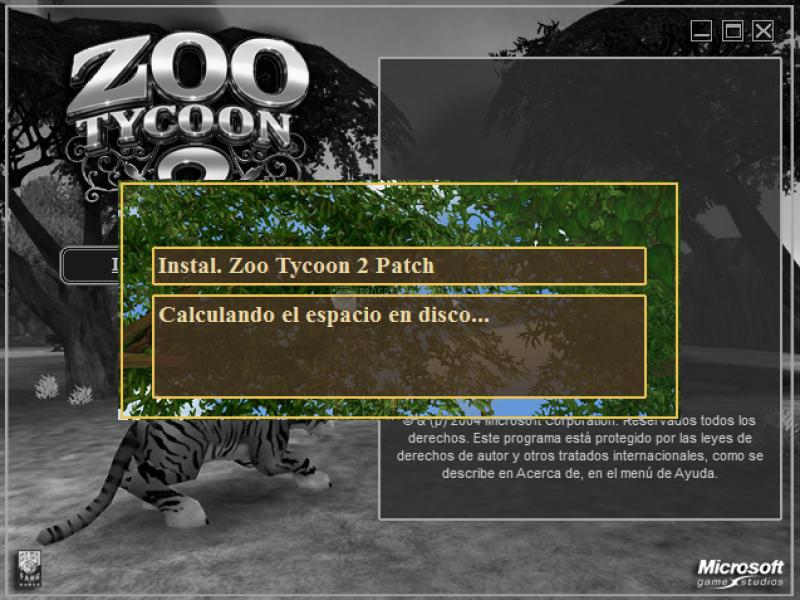Pantallazo Zoo Tycoon 2 Update