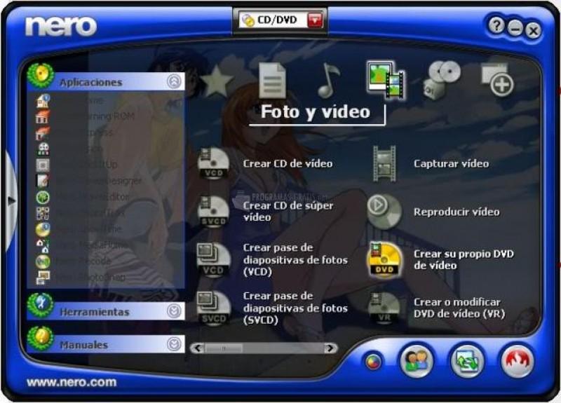 Pantallazo Nero ImageDrive