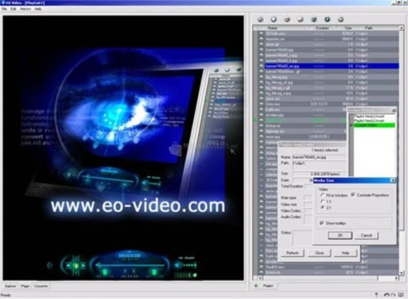 Pantallazo EO Video
