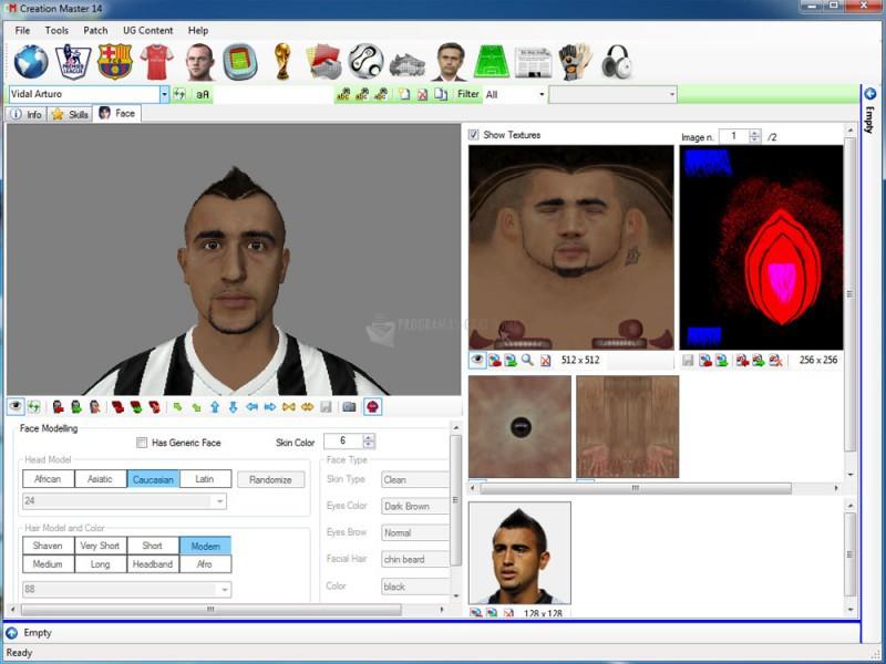 Pantallazo FIFA Creation Master