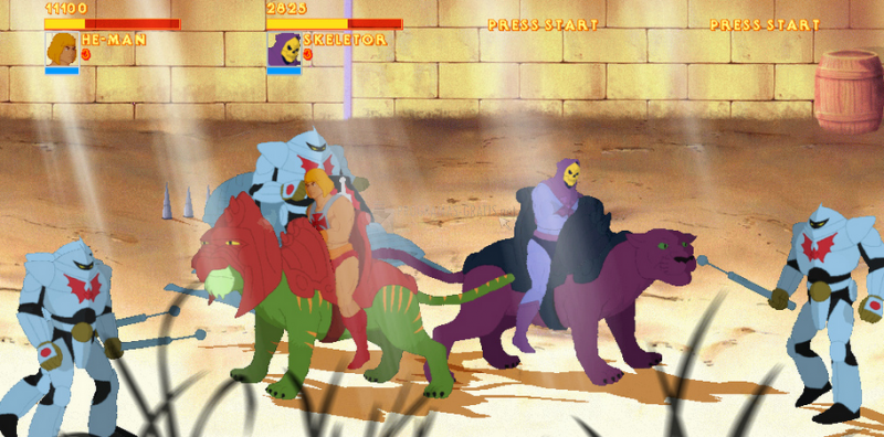 Pantallazo He-Man