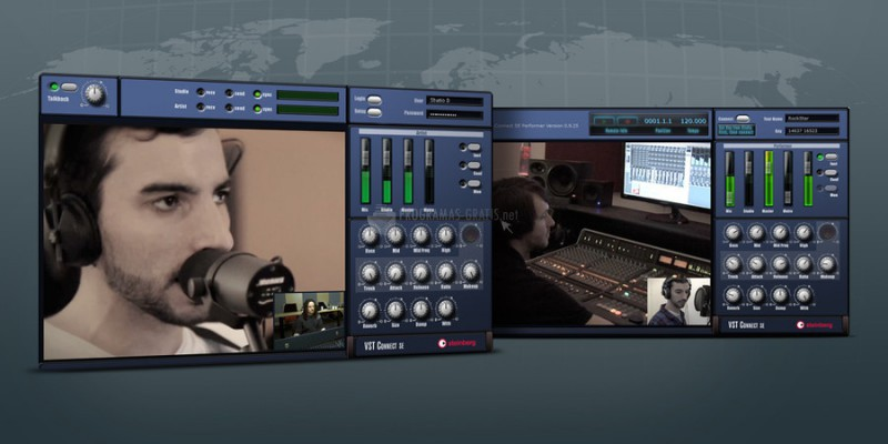 Screenshot Cubase VST Connect Performer