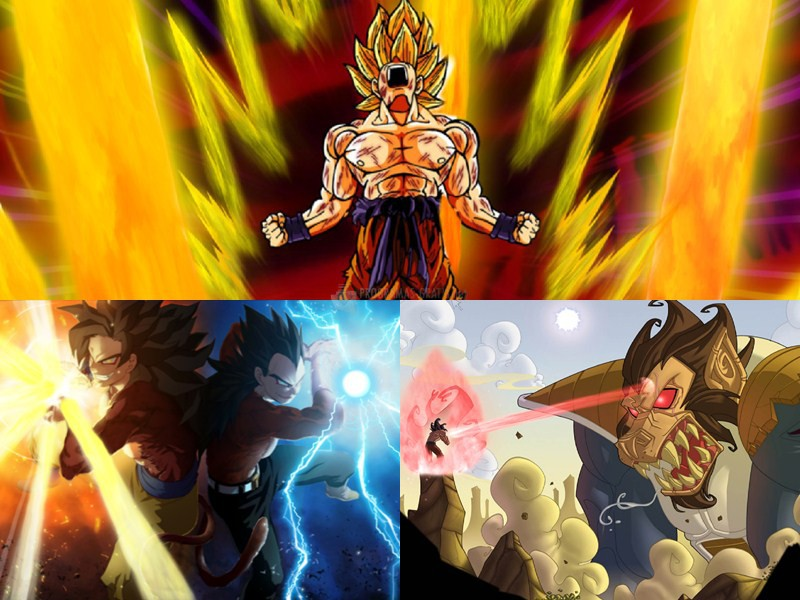 Pantallazo Dragon Ball Animated Wallpaper