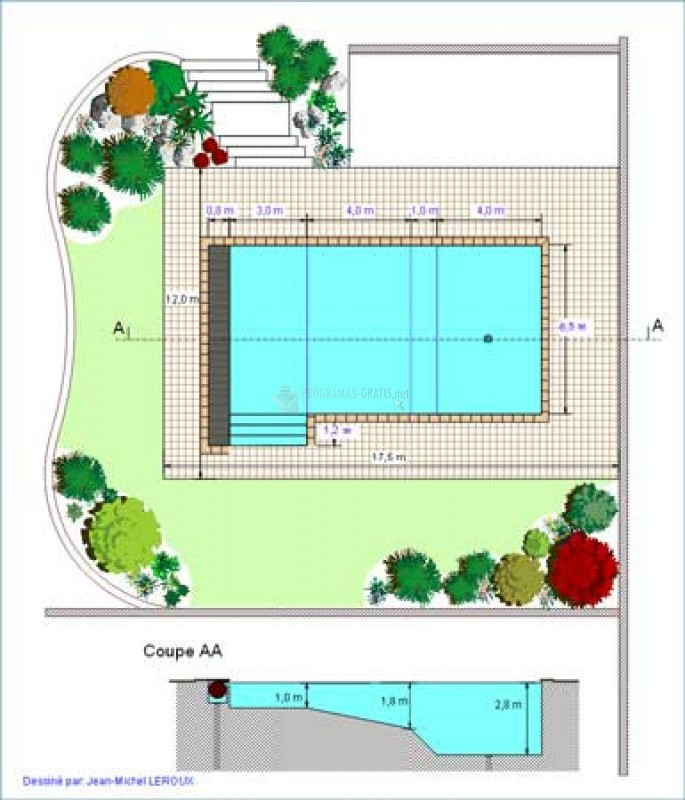 pantallazo project pool design