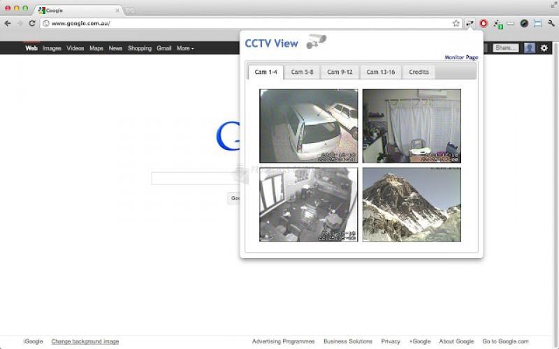 Pantallazo CCTV View