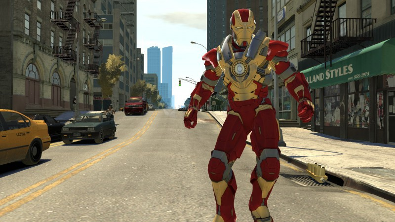 Pantallazo Iron Man 3 Mark XVII Heartbreaker