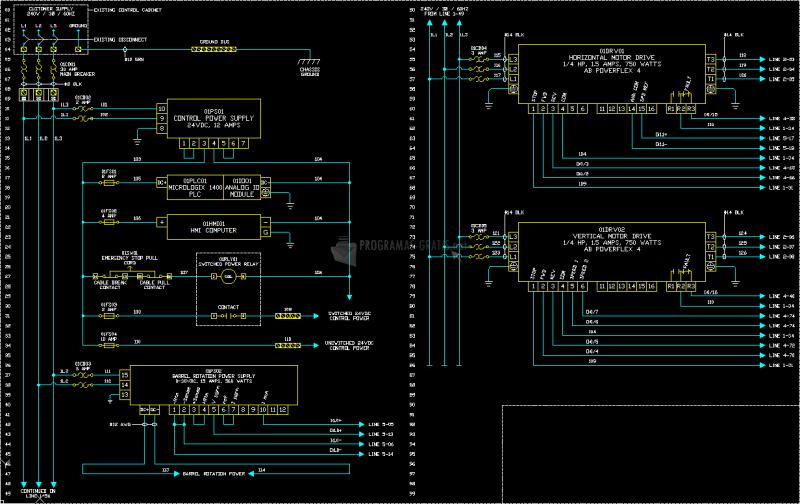 Pantallazo AutoCAD Electrical