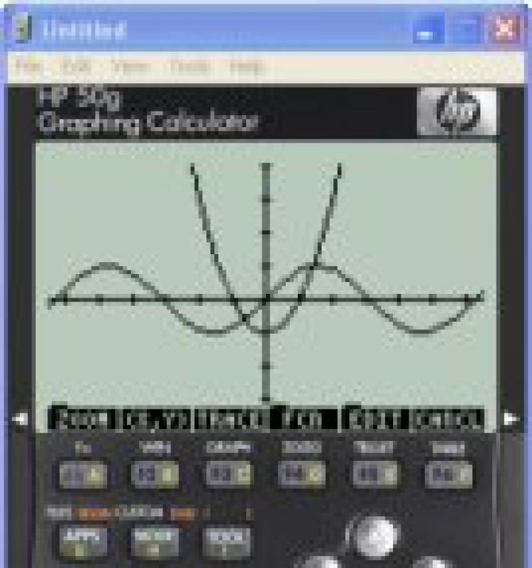 Pantallazo Emulador Calculadora HP 50G