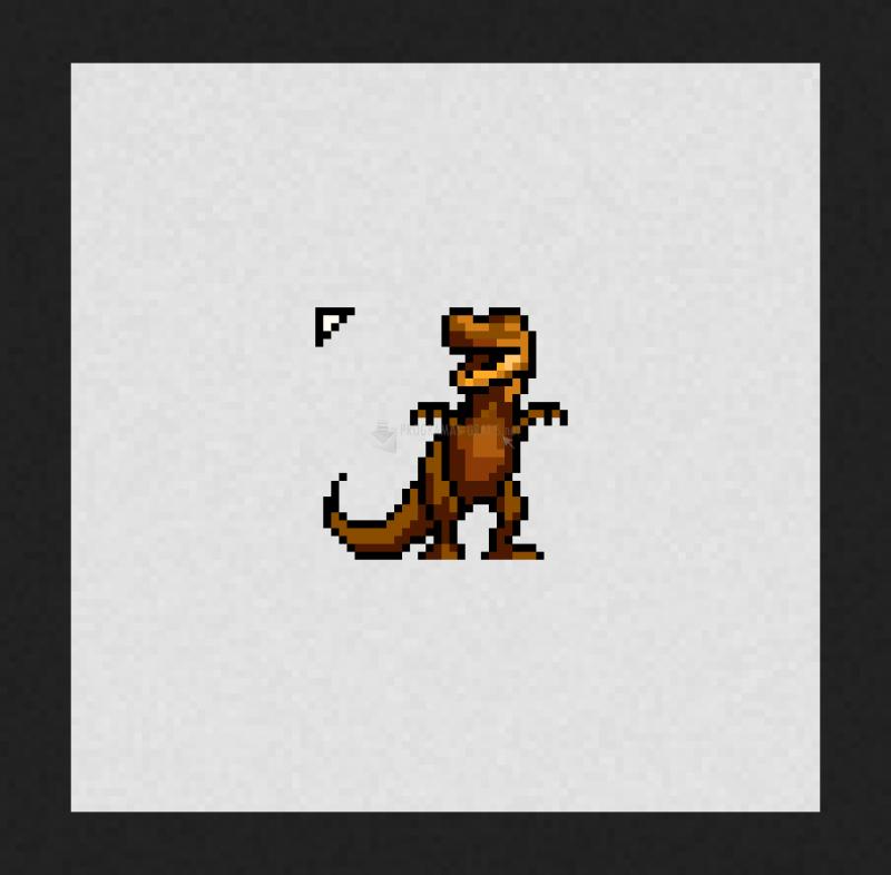 Pantallazo Cursor Tyrannosaurus Rex