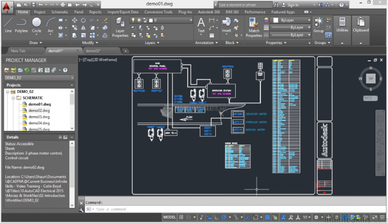 Pantallazo Parche AutoCAD Electrical Spanish