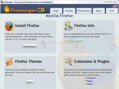 Pantallazo FireMonger CD