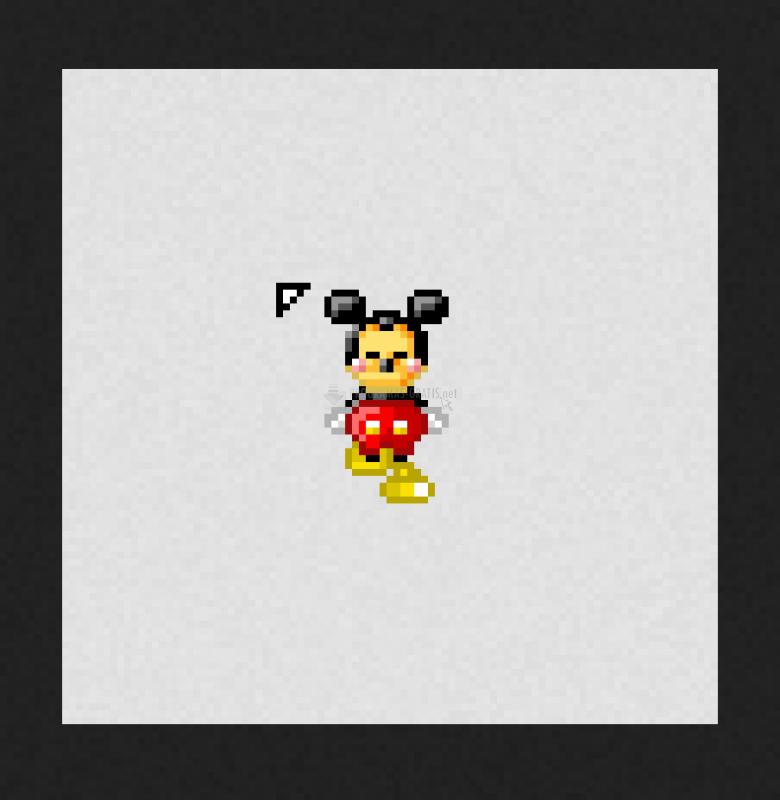 Pantallazo Cursor Mickey Mouse
