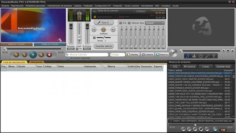 Pantallazo Karaoke Media Pro