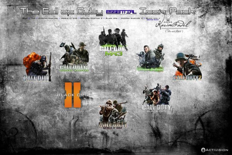 Pantallazo Iconos Call of Duty