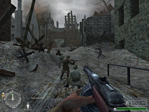 Pantallazo Call of Duty Spanish Patch