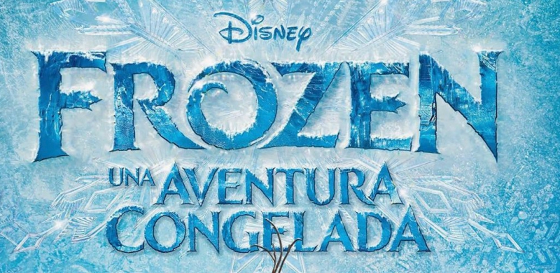 Pantallazo Frozen Font