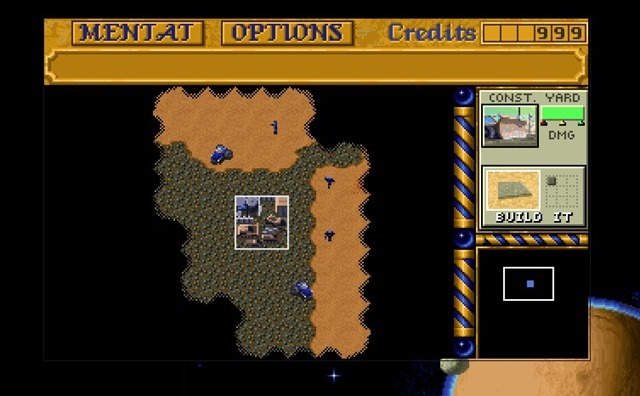 Pantallazo Dune 2 - The Building of a Dynasty