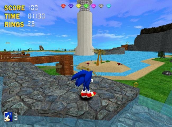 Pantallazo Sonic The Hedgehog 3D