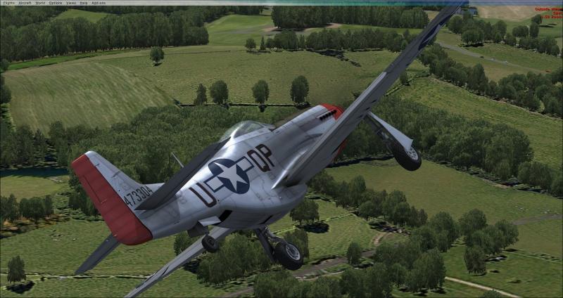 Pantallazo Microsoft Flight Simulator X