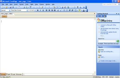 microsoft frontpage gratis
