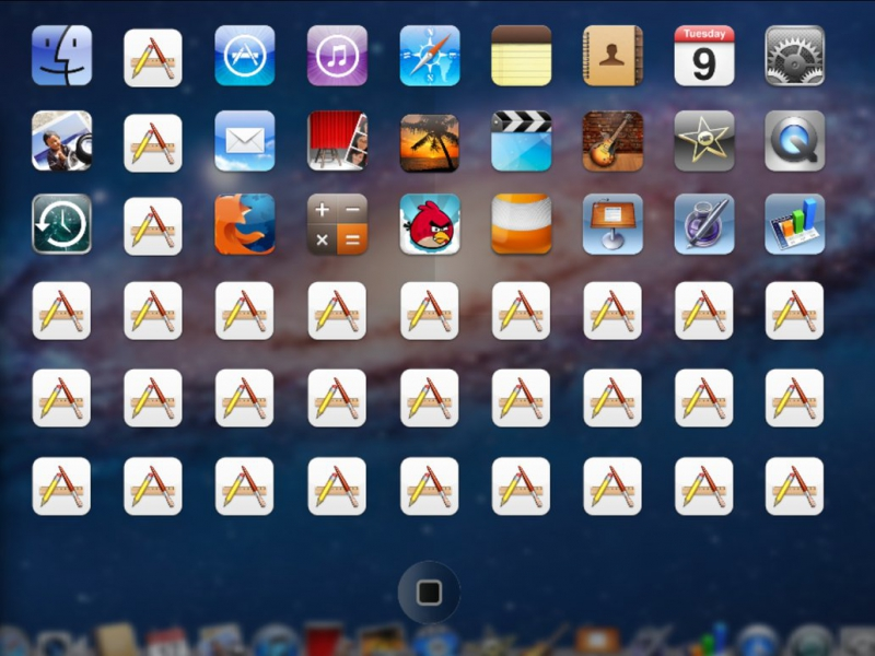Pantallazo iPad Launcher