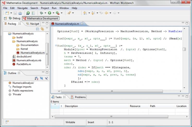 Pantallazo Mathematica