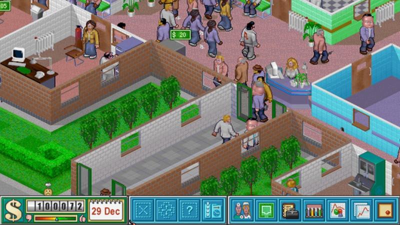 Pantallazo Theme Hospital